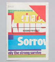 Tabloid Typeface Specimen