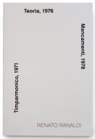Teoria, 1976, Mancamenti, 1978, Timparmonico, 1971