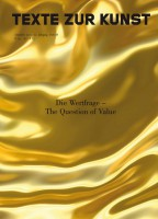 "Texte Zur Kunst 88 / December 2012 ""The Question of Value"""