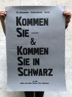 The Last Zürich Zine Sezession (Poster)