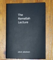 The Ramallah Lecture