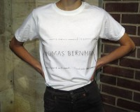 Thomas Bernhard t-shirt (L)