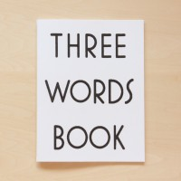 Three Words Book
