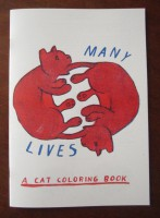 Many Lives: A Cat Coloring Book