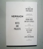 Versuch No. 1 : Notes and Projects