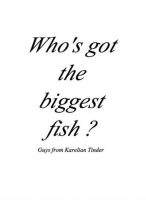 Who's got the biggest fish - Guys from Karelian Tinder