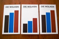 Die Wolken (Set of 3)