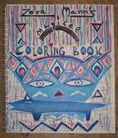 Zora Mann's Magical Coloring Book (Special Edition)