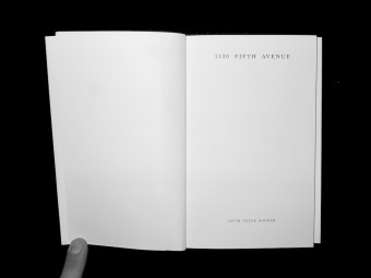 1130 Fifth Avenue. Jacob Peter Kovner_Motto Books_2