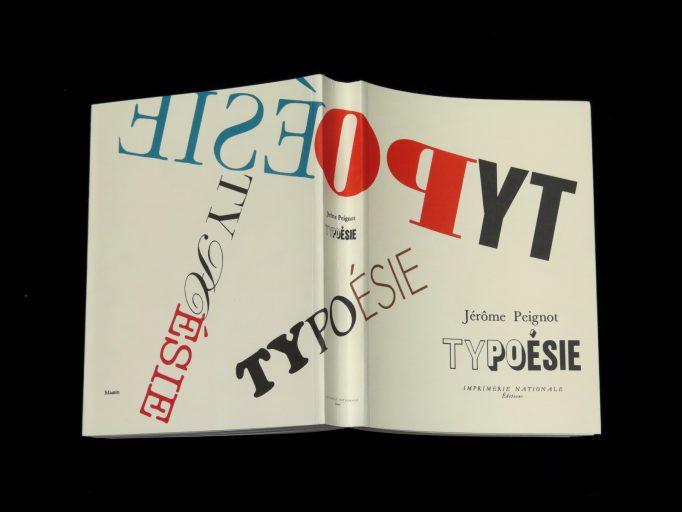 Typoésie_Jérome Peignot_Motto Books_2017_1