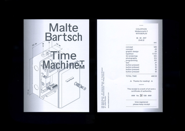Time Machine™. Malte Bartsch_Motto books_2017_1