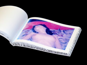 Blue Period : Last Summer (US Cover Edition), Nobuyoshi Araki, Session Press & Dashwood Books, 9780996657419_Motto Books_5
