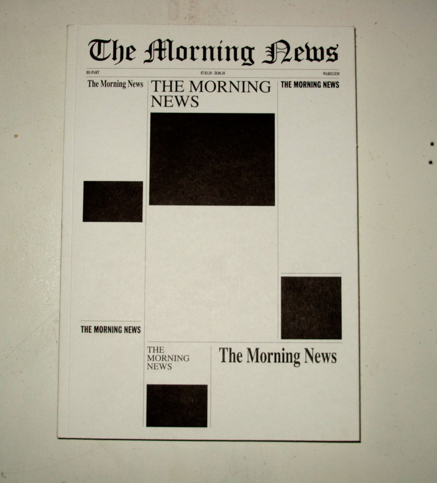 the morning news essays Get college application and admissions tips for your college yahoo-abc news i read too many generic essays when i was an admissions officer about.