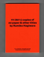 111 (50%) copies of A4 paper & other titles