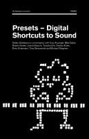 Presets – Digital Shortcuts to Sound