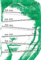 RAB-RAB JOURNAL ISSUE #05