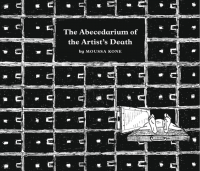 The Abecedarium of the Artist's Death