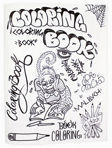Coloring Book by Dr. Lakra