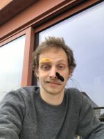 Self-Portrait with Moustaches #2