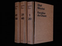 Olaf Nicolai: Escalier du Chant