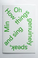 OMP 68: 'How things genuinely speak and sing...'