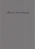 After you, dearest language