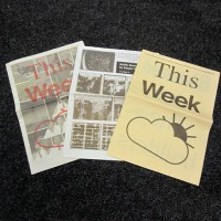 This Week - Issues 1,2, 3 (set)