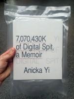 Anicka Yi: 7,070,430K of Digital Spit, A Memoir