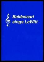 Baldessari sings LeWitt