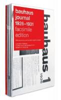 bauhaus journal 1926–1931 facsimile edition