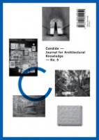 Candide - Journal for Architectural Knowledge #5