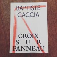 Croix Sur Panneau