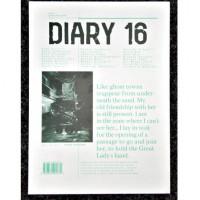 Diary 16 #2: Sensitive Surface
