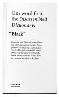 Dissembled_dictionary_black_Sandra_Praun_Oscar_Guermouche_motto_file#jpg