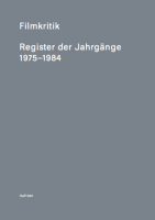 HaFI007: Filmkritik: Register der Jahrgänge 1975-1984