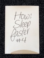 How to Sleep Faster #4