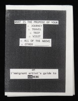 An I'mmigrant Artist's Guide To Nowhere