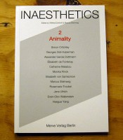 Inaesthetics #2: Animality