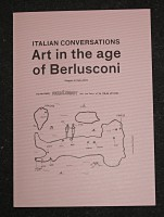 Italian Conversations – Art in the age of Berlusconi