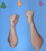 John Baldessari, ARMS & LEGS (SPECIF. ELBOWS & KNEES), ETC.