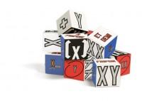 Lawrence Weiner 'XX XY' Blocks