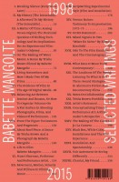 Babette Mangolte – Selected Writings, 1998–2015