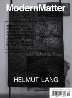 Modern Matter #16 (Cover by Helmut Lang)