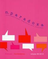 n.paradoxa vol. 38 Polemics / Contestations