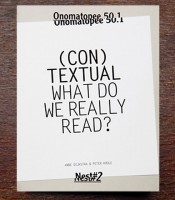 OMP 50.1: (con)textual: What Do We Really Read?