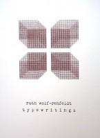 Ruth Wolf-Rehfeldt: Typewritings  e.a. (20 sheets)