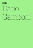 100 Notizen - 100 Gedanken (100 Notes – 100 Thoughts): No. 019, Dario Gamboni