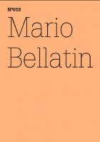 100 Notizen - 100 Gedanken (100 Notes – 100 Thoughts): No. 018, Mario Bellatin