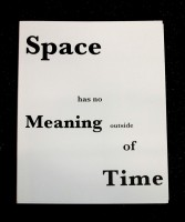 Space Has No Meaning Outside Of Time