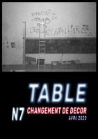 Table de Presse n°7 - Changement de Décor